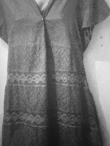 Tatulla embroided A line tunic dress