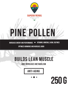 Pine Pollen Powder Wild Harvested 98% Cell Cracked