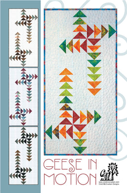 Geese in Motion Table Runner