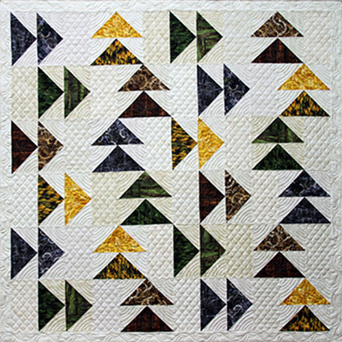 Geese in the West Cover Quilt Sample
