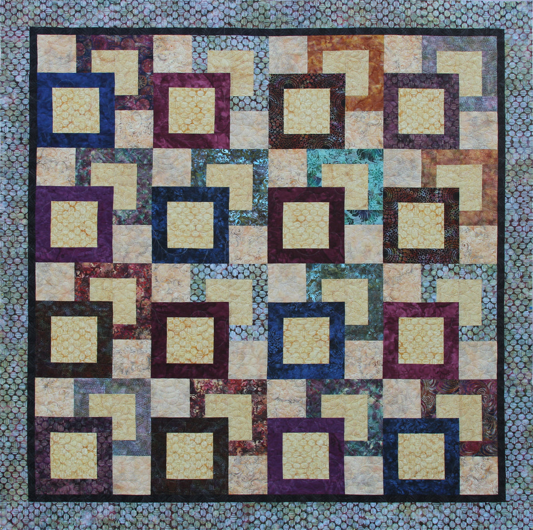 Jewel Box Cover quilt sample