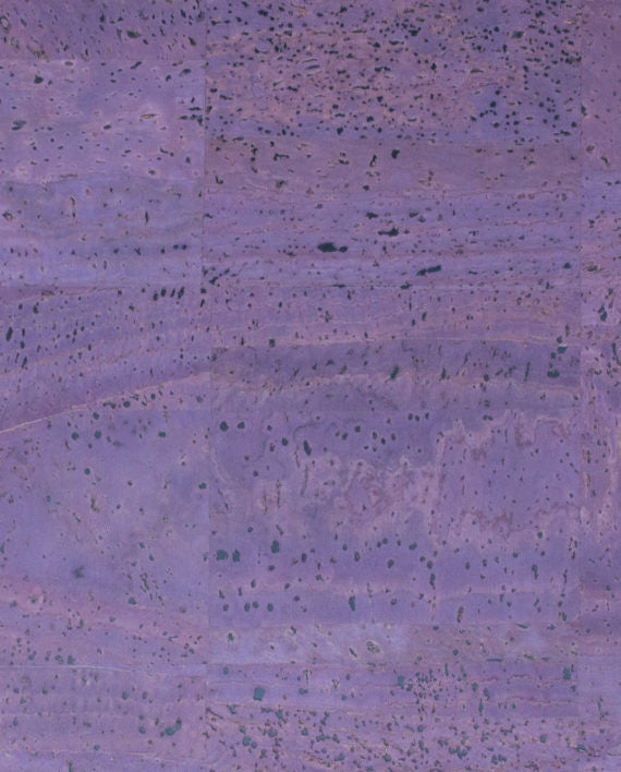 Natural Cork Fabric - Purple