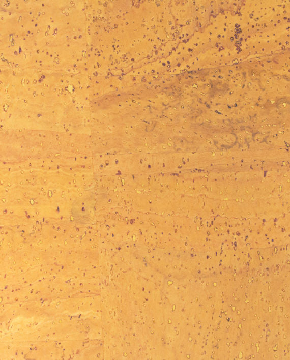 Natural Cork Fabric - Yellow