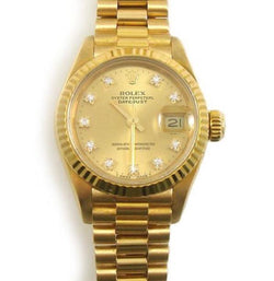Luxury Designer Gold Oyster Perpetual Watch ... #121