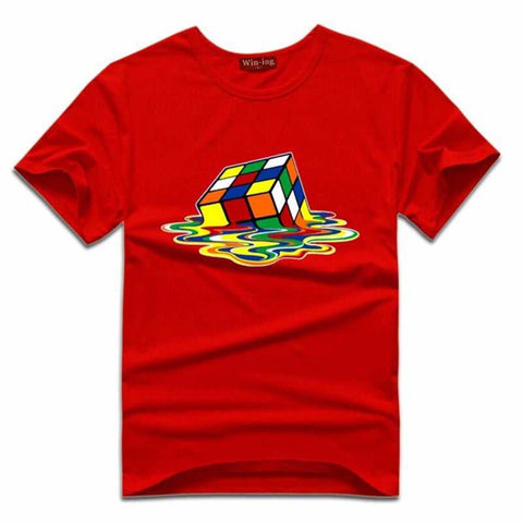 Big Bang Theory Rubix Cube T Shirt..Geek Fashion Collectable