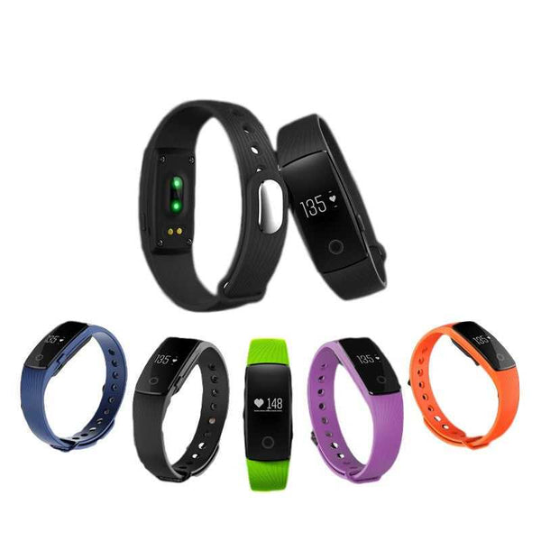 smart bluetooth fitness tracker smartband heart rate monitor