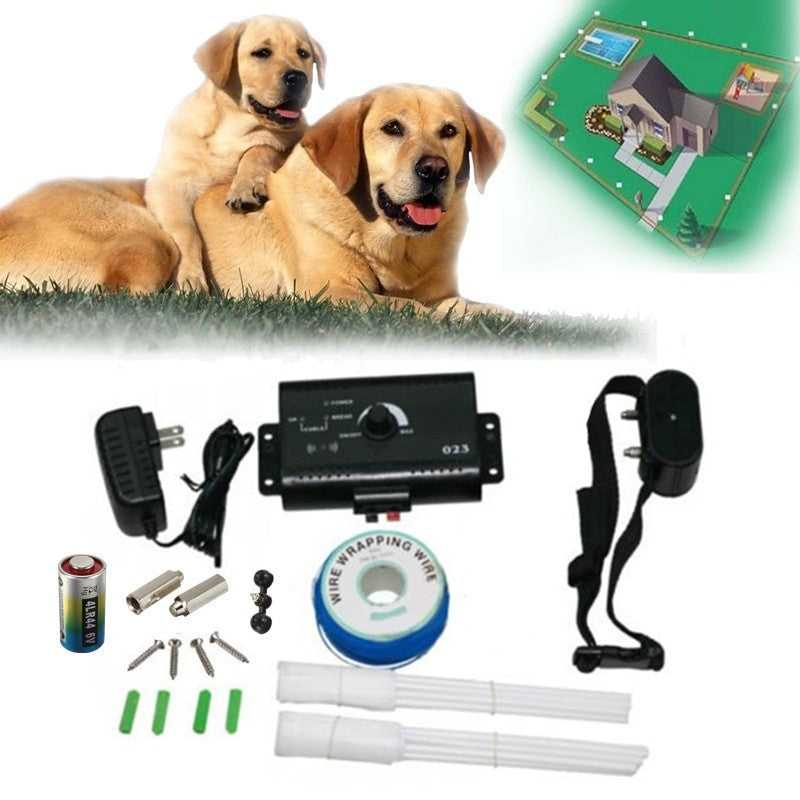 Dog Electric Fencing Shock Collar System Pet Accessories