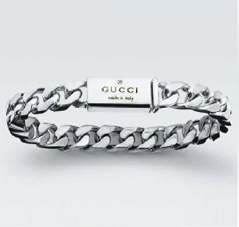 New 925 Silver GUCCI Bracelet...FREE SHIPPING... Jewellery Gifts