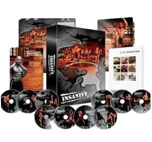 INSANITY 60 Day workout 13 DVDs Health Fitness - Flossiy com Gifts