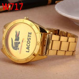 Lacoste Designer Gold Plated Watch...FREE SHIPPING... Jewellery