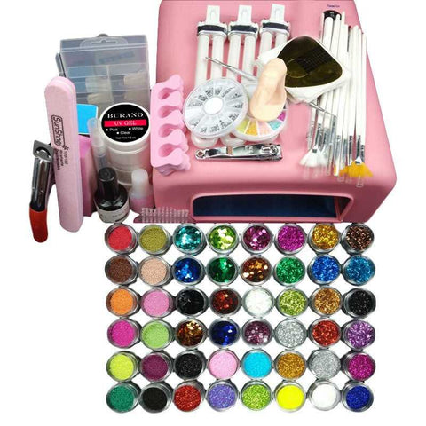 Professional Nail Art Kit...FREE SHIPPING... Make up Accessories