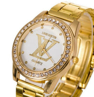 Louis Vuitton Gold Plated Watch...FREE SHIPPING...