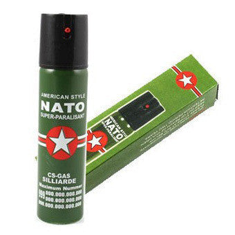 NATO Police Pepper Spray (Mace) ... FREE SHIPPING...
