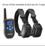 pet Accessories 300M Rechargeable LCD Remote Pet Dog Training Shock Collar...FREE SHIPPING...