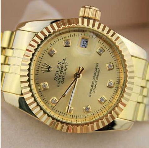 ii gold perpetual collection oyster diamond date in watches watch president image silver sale white day rolex