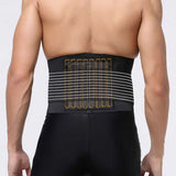 Adjustable Waist Support Brace Belt Lumbar Lower Waist Double Support