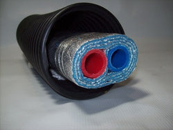Insulated Pipe 3 Wrap, 1' Rehau Non Barrier (2-1' lines)