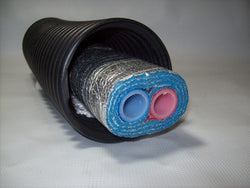 "EZ Lay Triple Wrap Commercial Grade  Insulated 1"" OB Pex Tubing"