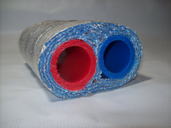 Insulated Pipe 3 Wrap 3/4' Non Oxygen Barrier (2-3/4' lines) - No Tile