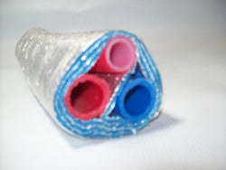 Insualted Pipe 3 Wrap, (3) 3/4' Non Oxygen Barrier - No Tile