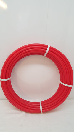 "1 1/4"" 100'  Non-Oxygen Barrier Red PEX tubing for heating and plumbing"