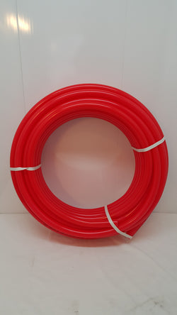 "1 1/4""  500' Non Oxygen Barrier Red PEX tubing for heating and plumbing"
