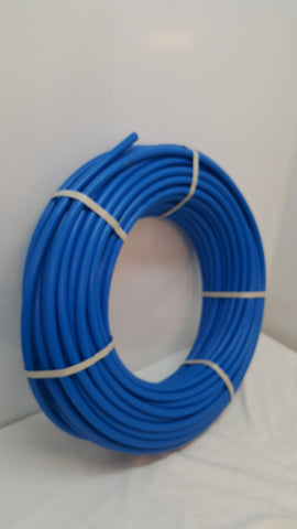 "100' 2"" Non Oxygen Barrier Blue PEX tubing for heating and plumbing"