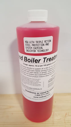 Wood Boiler Treatment 1Qt., G2 W/Chemical Detection Technology