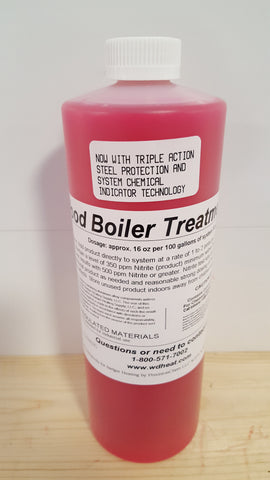 1Qt. Wood Boiler Treatment G2 W/Chemical Detection Technology