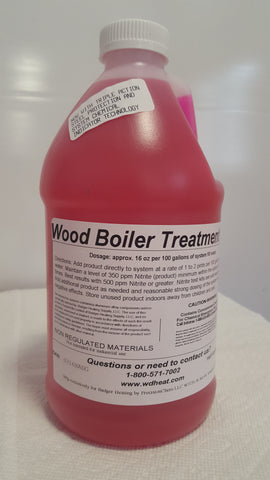 Wood Boiler Treatment 2Qt., G2 W/Chemical Detection Technology
