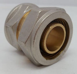 "1"" FPT Female Pipe Thread Pex-al-Pex Compression Fitting Quantity (2)"
