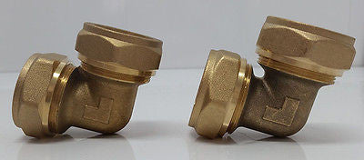 "1"" Elbow Pex-al-Pex  Compression Fitting-Quantity (2)"