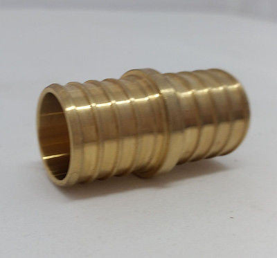 "1/2"" Pex crimp Coupling (Bag of 50) LEAD FREE!"