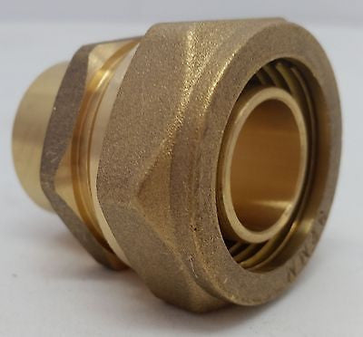 "Pex-al-Pex 1"" Female Sweat Compression Fitting Quantity (2)"