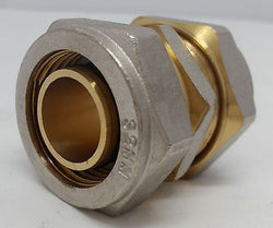 "1"" Coupling Pex-al-Pex Compression Fitting Quantity (2)"