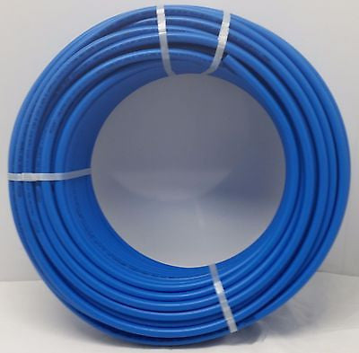 "1/2"" - 1000' coil BLUE Certified Non-Barrier PEX Tubing Htg/Plbg/Potable Water"