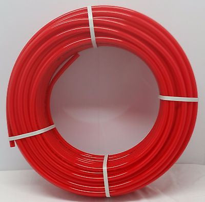 "Certified Non Barrier 1/2"" - 1000' coil RED PEX Tubing Htg/Plbg/Potable Water"