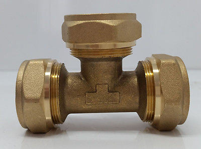 "1"" Tee Pex-al-Pex Compression Fitting"