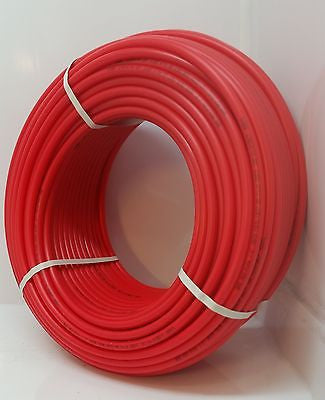 "100'  2"" Non Oxygen Barrier Red PEX for heating and plumbing."