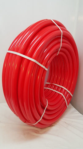 "500'  1 1/2"" Oxygen Barrier Red PEX tubing for heating and plumbing"