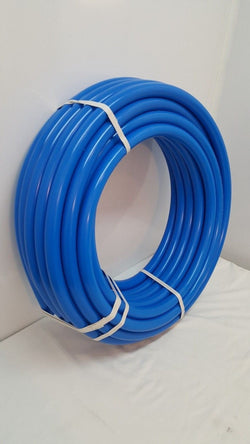 "1 1/4"" 250' Non Oxygen Barrier Blue PEX tubing for heating and plumbing"