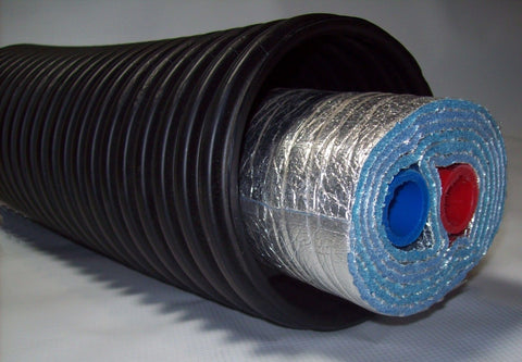 "EZ Lay Five Wrap Commercial Grade Insulated 1 1/2"" NB Tubing"