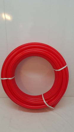 "1 1/4"" 250' Non Oxygen Barrier Red PEX Tubing for heating and plumbing"