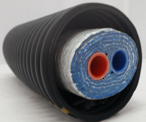 "275 Ft of Commercial Grade EZ Lay Five Wrap Insulated 1"" Pex AL Pex Tubing"