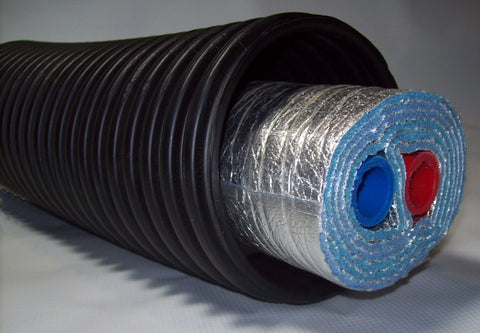 "40 Ft of Commercial Grade EZ Lay Five Wrap Insulated 11/2"" NB PEX Tubing"