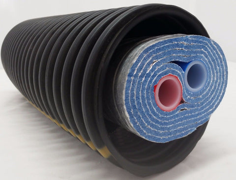 "275 Ft of Commercial Grade EZ Lay Five Wrap Insulated 1"" OB PEX Tubing"