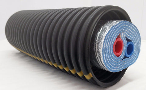 "100 Ft of Commercial Grade EZ Lay Five Wrap Insulated 3/4"" NB PEX Tubing"