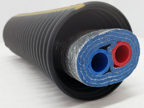 "140 Feet of Commercial Grade EZ Lay Triple Wrap Insulated 1 1/2"" NB Pex Tubing"