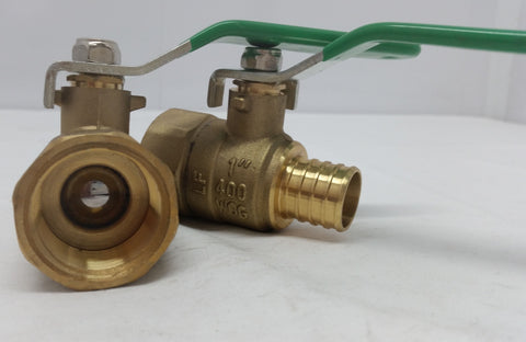 "FPT Ball Valve 1""x1"" Pex Box of 4"