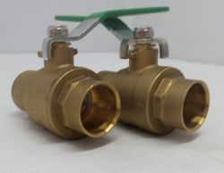 "1"" Sweat Ball Valve~~Box of 4"